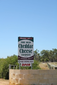 The Cheese Sign